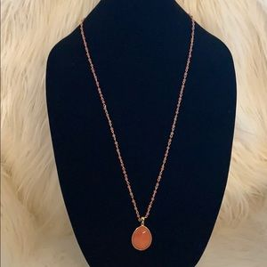 Jewelry - Genuine Rhodochrosite Pendant
